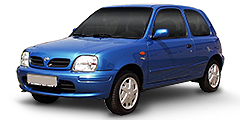 Micra (K11/Facelift) 1998 - 2002